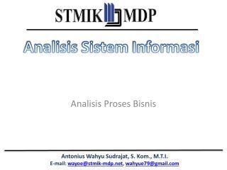 Analisis Proses Bisnis