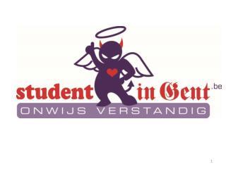 Studentenbeleid in Gent