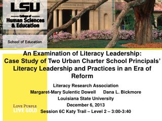 Literacy Research Association Margaret-Mary Sulentic DowellDana L. Bickmore