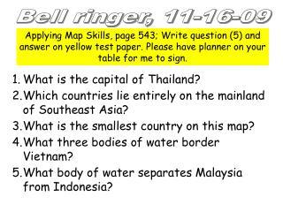 Bell ringer, 11-16-09