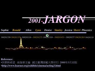 2001 - JARGON