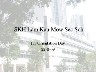SKH Lam Kau Mow Sec Sch