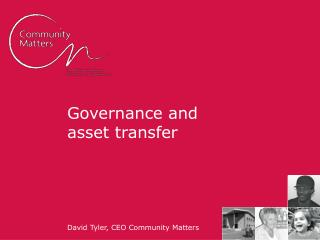 Governance and asset transfer