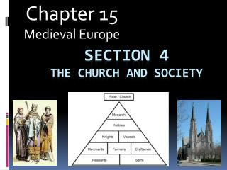 Section 4 The Church and Society