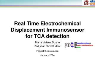 Real Time Electrochemical Displacement Immunosensor for TCA detection