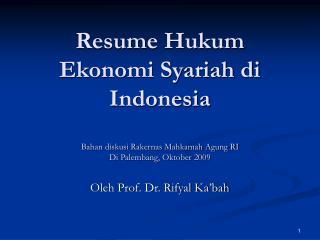 Oleh Prof. Dr. Rifyal Ka'bah