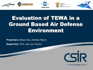Evaluation of TEWA in a Ground Based Air Defense Environment