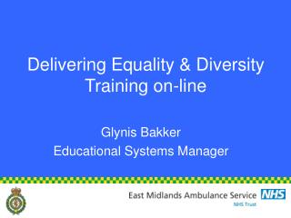 Delivering Equality & Diversity Training on-line