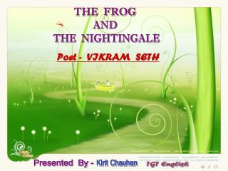 Poet -  VIKRAM  SETH
