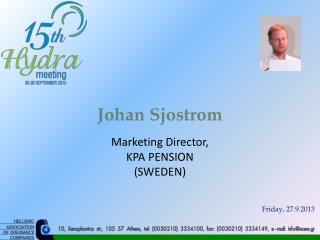 Johan  Sjostrom