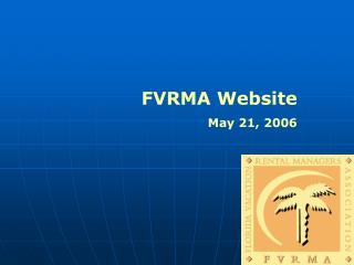 FVRMA Website May 21, 2006