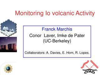 Monitoring Io volcanic Activity