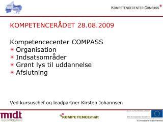 KOMPETENCERÅDET 28.08.2009