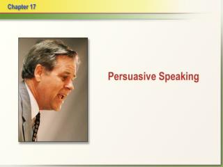 Persuasive speech:  a speech whose message attempts to change or reinforce an audience s thoughts, feelings or actions.