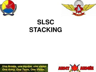 SLSC STACKING