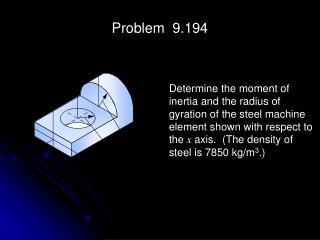 Problem  9.194