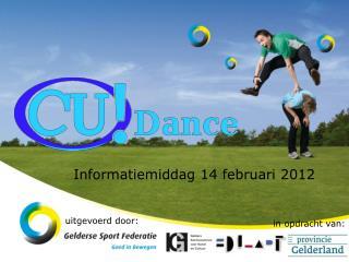 Informatiemiddag 14 februari 2012