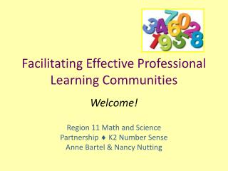 Facilitating Effective Professional Learning Communities