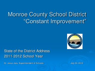 "Monroe County School District ""Constant Improvement"""