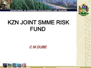 KZN JOINT SMME RISK FUND