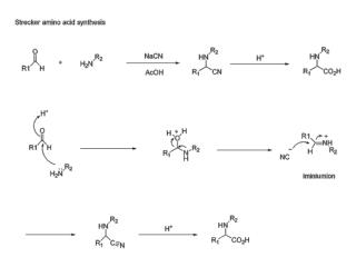 Three-component coupling reactions in ionic liquids: a facile synthesis of  a -aminonitriles