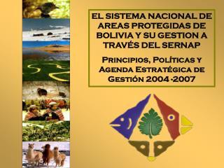 EL SISTEMA NACIONAL DE AREAS PROTEGIDAS DE BOLIVIA Y SU GESTION A TRAVÉS DEL SERNAP