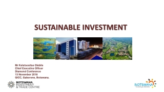 Global Trends in Sustainable Investment 2009
