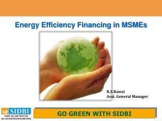 Energy Efficiency Financing in MSMEs