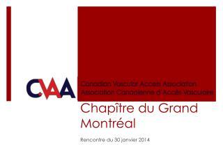 Chapître  du Grand Montréal