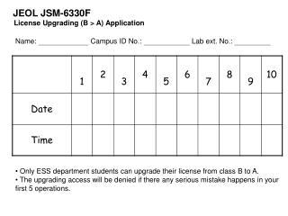 JEOL JSM-6330F