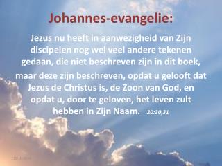 Johannes-evangelie :