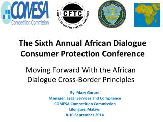 Moving Forward With the African Dialogue Cross-Border  Principles