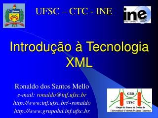 Introdução à Tecnologia XML