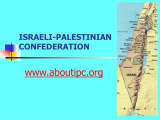 ISRAELI-PALESTINIAN CONFEDERATION