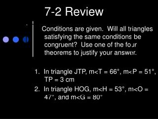 7-2 Review