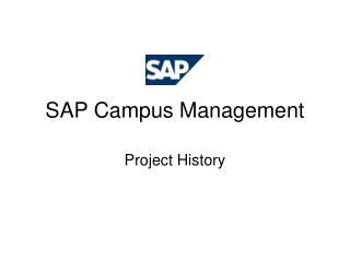 SAP Campus Management