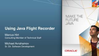 Using Java Flight Recorder