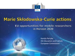 Marie  Sk?odowska -Curie  actions