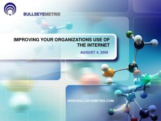 IMPROVING YOUR ORGANIZATIONS USE OF THE INTERNET