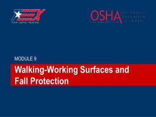 Walking-Working Surfaces and Fall Protection