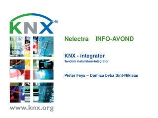 Nelectra    INFO-AVOND KNX -  integrator Tandem  installateur -integrator