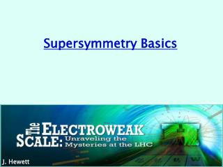 Supersymmetry Basics