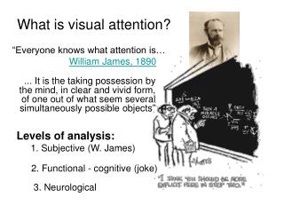 """Everyone knows what attention is…  William James, 1890"