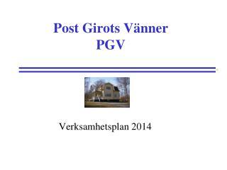 Post Girots Vänner PGV