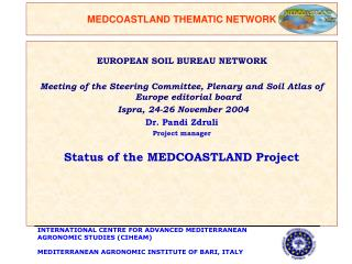 MEDCOASTLAND  THEMATIC NETWORK