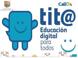 """""""Desarrollo y Educación  Digital para Todos"""" Presentación"""