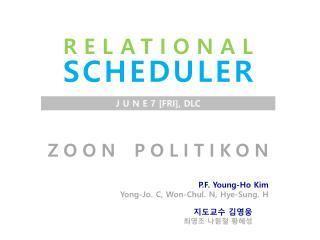 ZOON POLITIKON P.F. Young-Ho Kim Yong-Jo. C, Won- Chul . N,  Hye -Sung. H