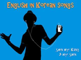 English in Korean songs