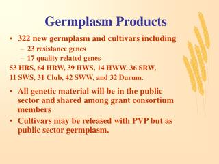 Germplasm Products