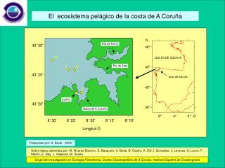 El  ecosistema pelágico de la costa de A Coruña